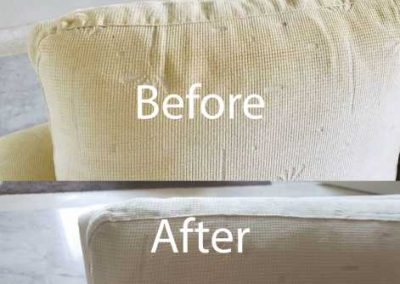 Bafore And After Sofa Cleaning