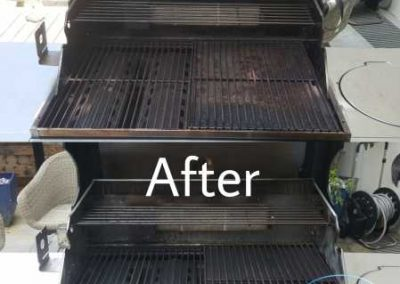 Before And After BBQ Tray Cleaning2