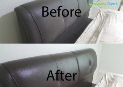 Before And After Bedside Cleaning
