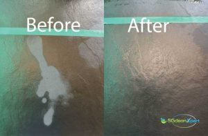 Before And After Floor Cleaning Service