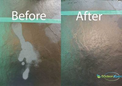 Before & After Etched Tile Floor Restoration