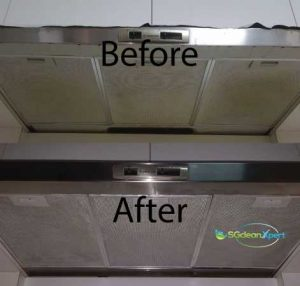 Before And After Kitchen Hood Cleaning