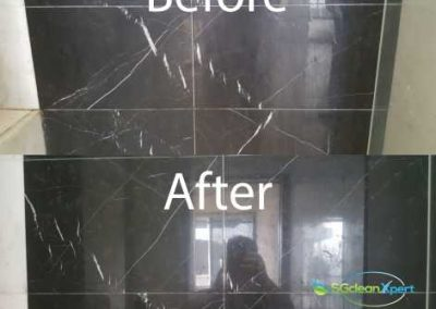 Before And After Marble Cleaning