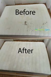 Before And After Mattress Cleaning Service