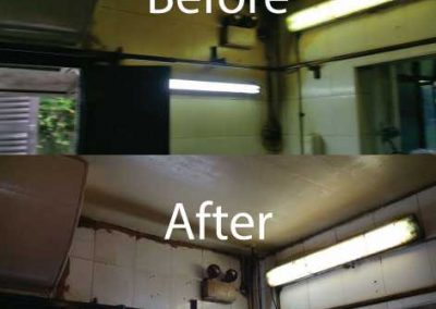 Before & After Restaurant Kitchen Cleaning