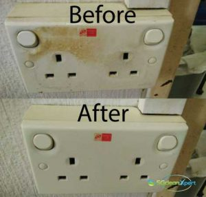 Before And After Switch Cleaning