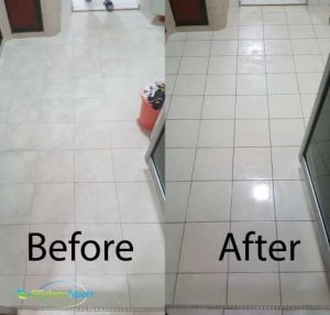 Before And After Floor Cleaning