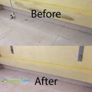 Before & After Aircon Trunking Mold Cleaning