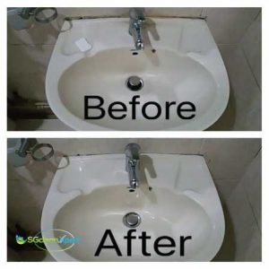 Before And After Silicon Mold Cleaning