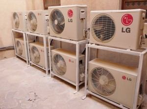 outdoor aircon cleaning