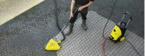 patio cleanning