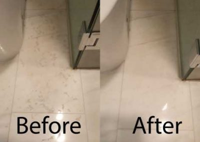 Bafore And After Floor Cleaning