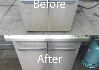 Bafore And After Kitchen Cleaning