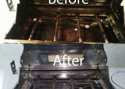 Before And After BBQ Cleaning