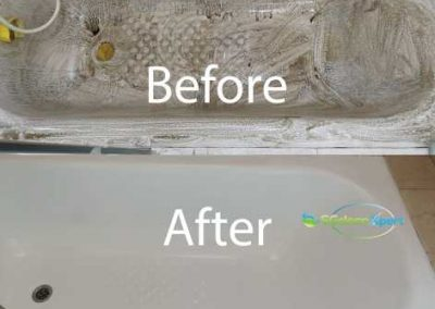 Before & After Bathtub Restoration