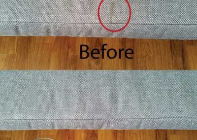 Before And After Fabric Sofa Cleaning