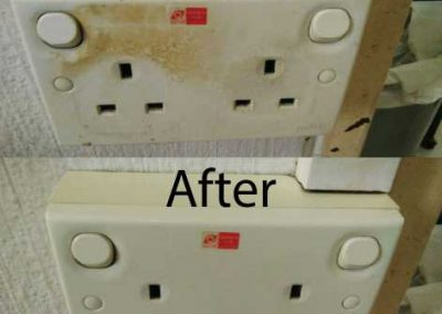 Before & After Switch Cleaning