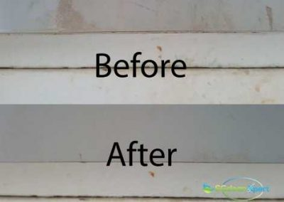 Before And After Mold Cleaning