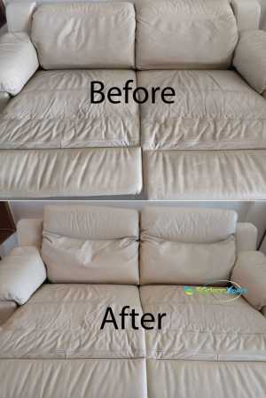 Sofa Cleaning Before Amp After Cleaning Sgcleanxpert