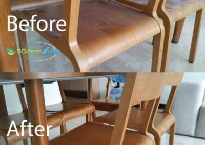 Before And After Chair Cleaning